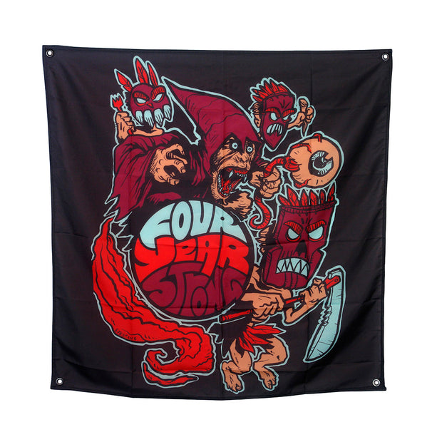 Warrior - Wall Flag