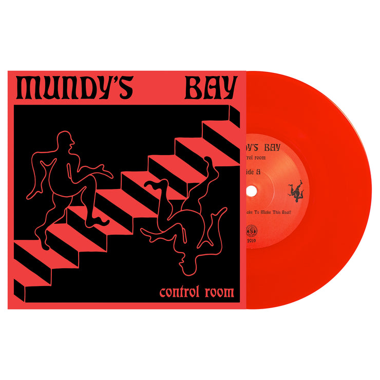 Control Room Blood Red Vinyl 7""
