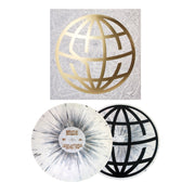 Around The World & Back Deluxe Edition White W/ Grey Splatter