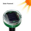 4Pcs Solar Ultrasonic Garden Pest Deterrent Spike