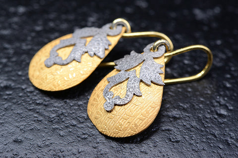 Le Foglie Earrings / CG20-E10-SS