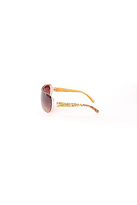 Sunglasses with Rhinestones on Front