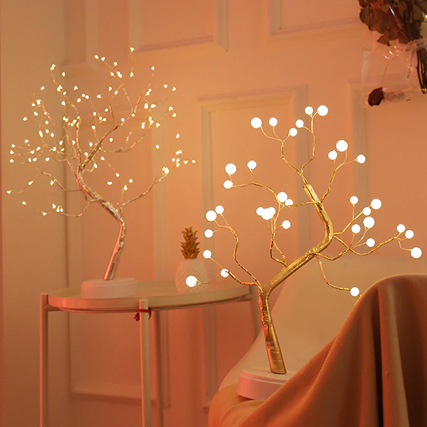 Fairy Light Garland Tree