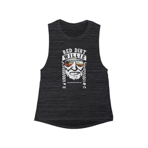 RDC - Red Dirt Willie 2 - Flowy Scoop Muscle Tank