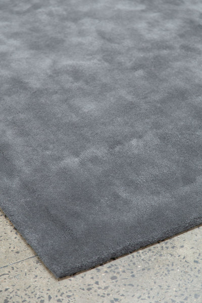 TUFTED WOOL SD SYLK GREY