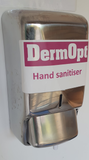 Wall mounted foam hand sanitiser dispenser