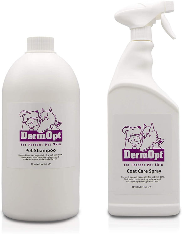 Eco-Friendly Option<br />Dog Shampoo & Coat Care Spray 1000ml