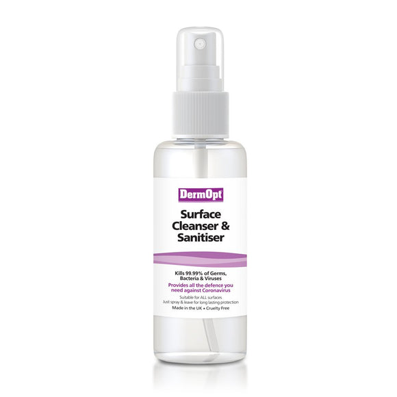 Pocket Surface Cleanser & Sanitiser Spray<br/>125ml