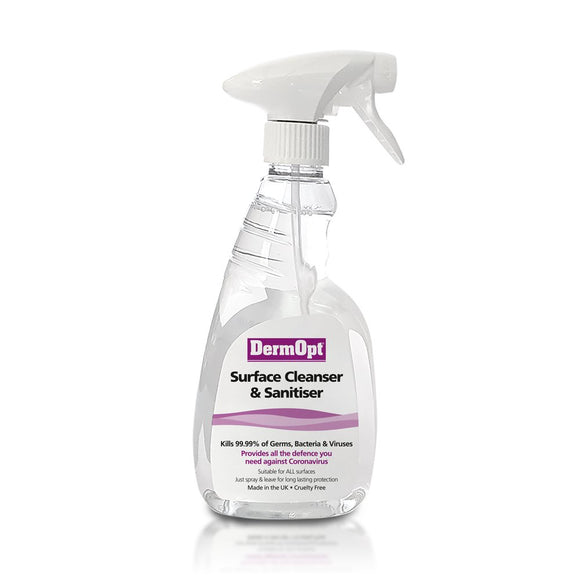 Surface Cleanser & Sanitiser Spray<br/>500ml