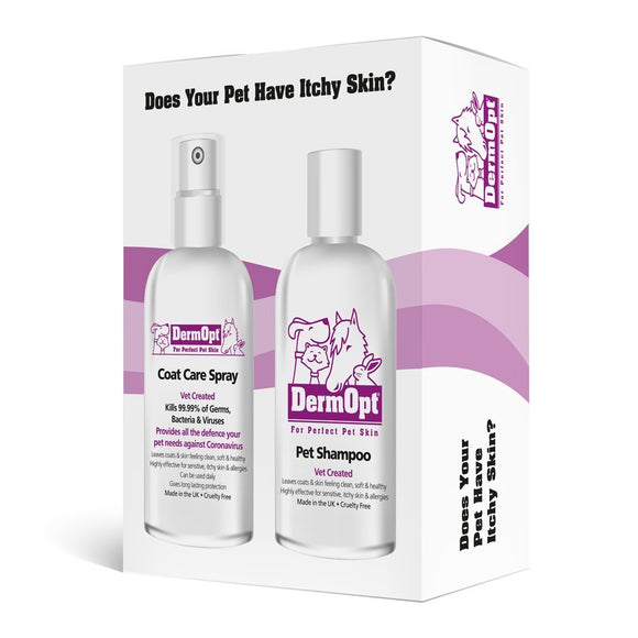 Shampoo & Coat Care Spray<br/>Combination Pack 2 x 250ml
