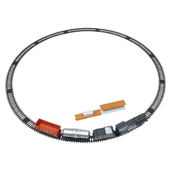 Trenulet electric Super Track, lumini si sunete.