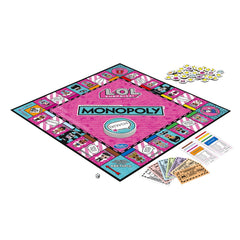 Joc de societate Monopoly LOL Surprise