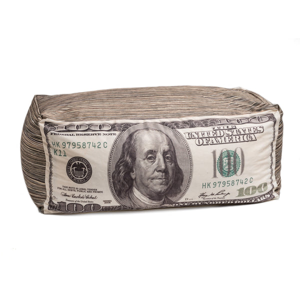 $100 Money Beanbag