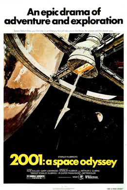 2001 a space odyssey stanley kubrick movie poster
