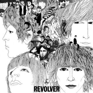 revolver by the beatles album cover