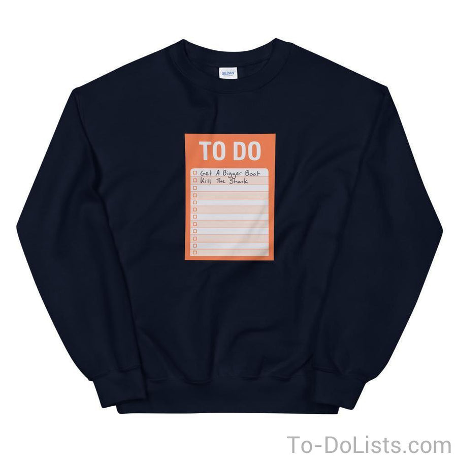 Jaws Sweatshirt-Sweatshirts-To-DoLists.com