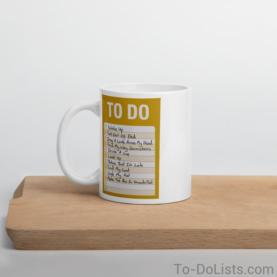 The Beatles Coffee Mug Yellow-Mugs-To-DoLists.com