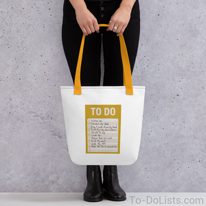 The Beatles Tote Bag Yellow-Tote Bags-To-DoLists.com