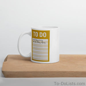 The Shawshank Redemption Coffee Mug Yellow-Mugs-To-DoLists.com