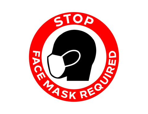 Face Mask Circle Decal