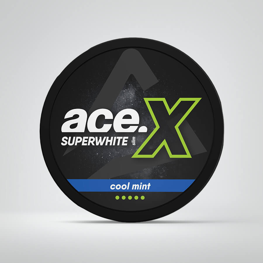Ace X Cool mint snus nicotine pouches
