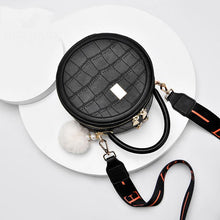Load image into Gallery viewer, Women's Shoulder Bag with Ball Pom