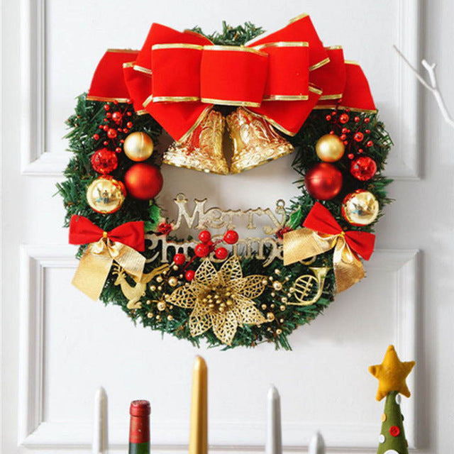 Christmas 30cm Christmas Large Wreath Door Wall