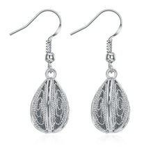 Load image into Gallery viewer, Guadalajara Drop Earring in 18K White Gold Plated