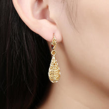 Load image into Gallery viewer, Stella Drop Earring in 18K Gold Plated