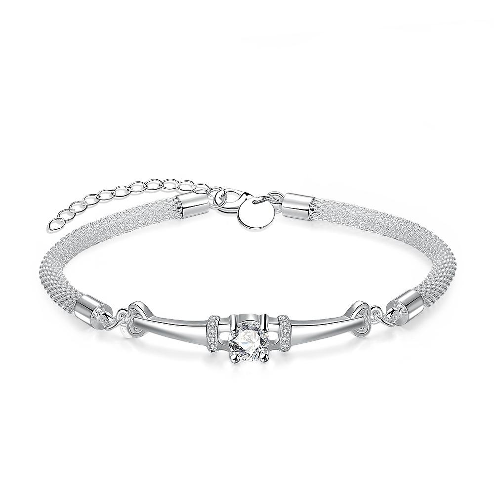 Livry-Gargan 18K White Gold Plated Bracelet