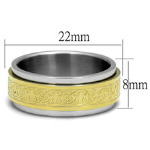 Load image into Gallery viewer, Men Stainless Steel No Stone Rings TK2939