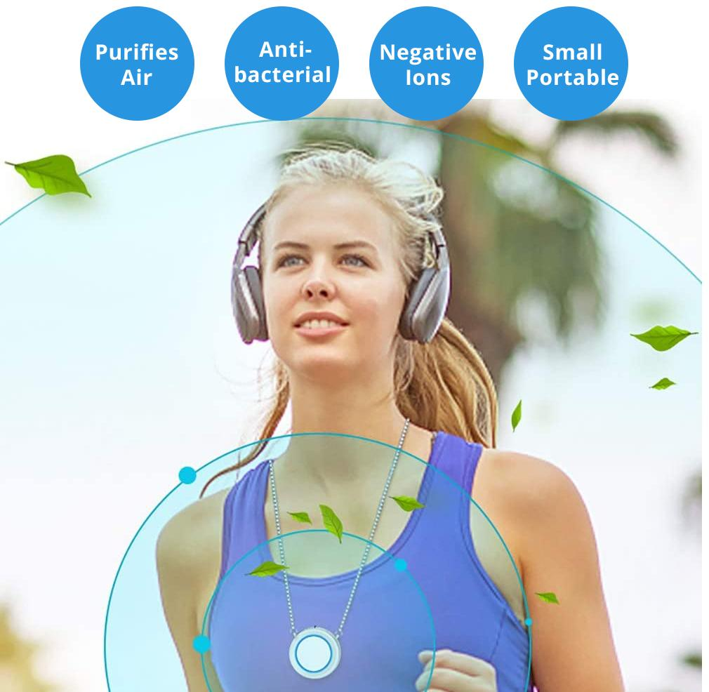 Wearable Air Purifier Necklace