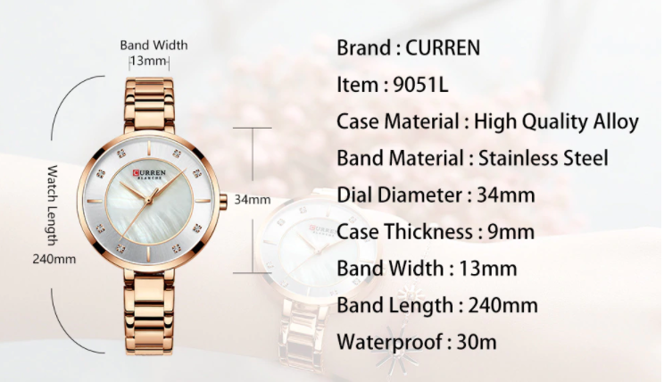 Curren Women Watch