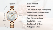 Load image into Gallery viewer, Curren Women Watch