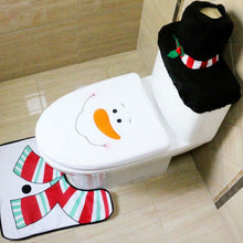 Laden Sie das Bild in den Galerie-Viewer, Frosty seat cover, holiday seat cover, snow man seat cover