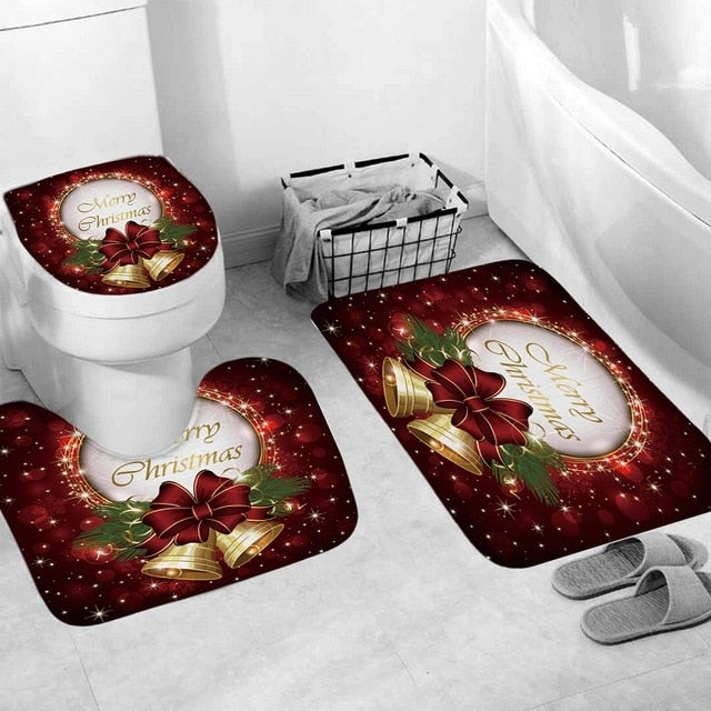 Christmas seat cover, toilet seat cover