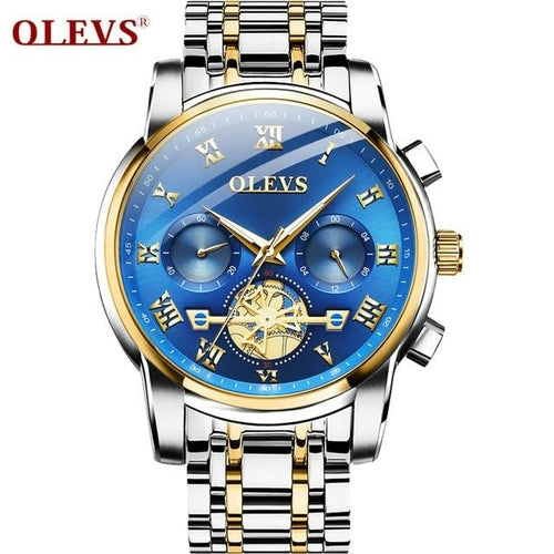 OLVES Men's Business Fashion Chronograph Watch