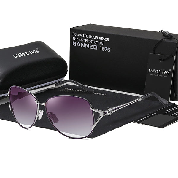 BANNED 1976 - HD polarized driving sunglasses