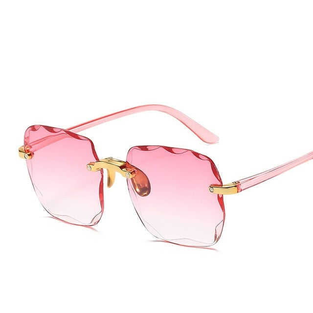 Guangdu - Women's Fashion Square Sunglasses Women with UV400 Protection