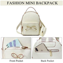 Cargar imagen en el visor de la galería, Mini Backpack with Detachable Coin Purse