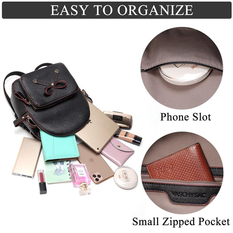 Mini Backpack with Detachable Coin Purse