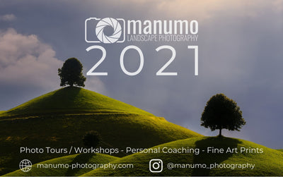 Landscapes 2021 Table Photo Calendar manumo-photography.
