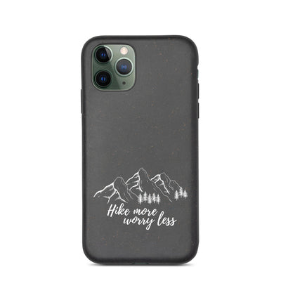 Biodegradable iPhone case - Hike More Worry Less manumo-photography.