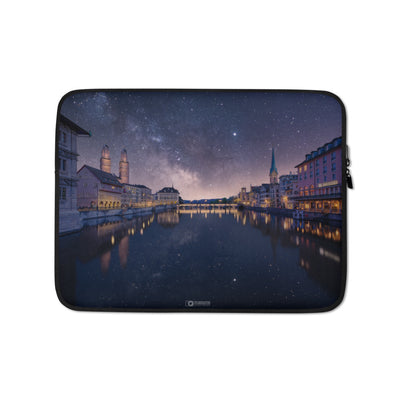 Laptop Sleeve - Invisible Reality Zurich manumo-photography.