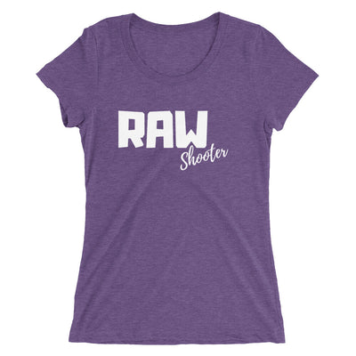 RAW Shooter Ladies' short sleeve t-shirt manumo-photography.