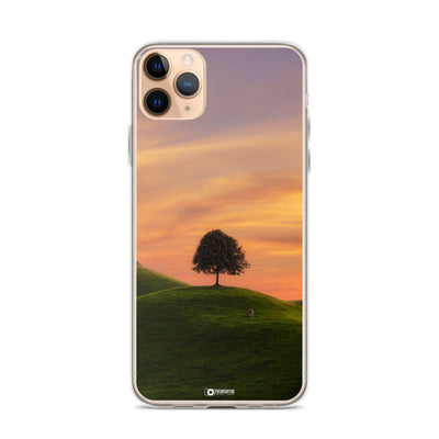 iPhone Case - Sunset at the Hills manumo-photography.