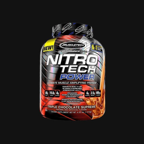 Shop NitroTech Power Protein Blend online in Pakistan, Optimum-Being