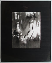"Load image into Gallery viewer, ""Innenraum 2"" 1993 Ink Painting"