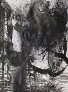 "Untitled ""A"" 1997 Ink Painting"