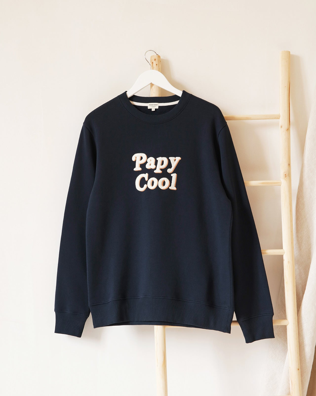 Le duo de sweats Papy cool / Mamie cool - charbon